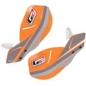 PRIMUS HAND SHIELDS PR ORANGE W/ BLACK MOUNTS ERGO-62-161-BK
