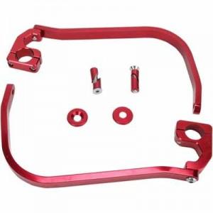 ALUMINUM HANDGUARDS TAPER RED ERGO-60-230